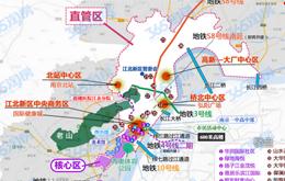 江北新区直管区、核心区超强解析 区位、规划、楼盘一目了然