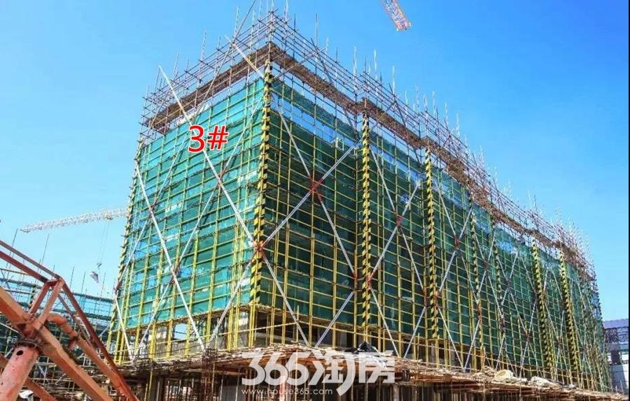 华强悦山府3#6月工程进度(2018.6摄)