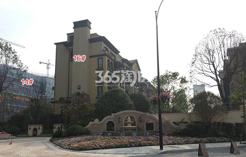 中国铁建西湖国际城14、16号楼施工进程(2018.4)