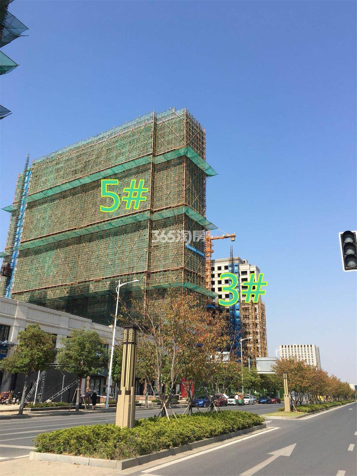 融侨观澜3#、5#工程进展(11.15)