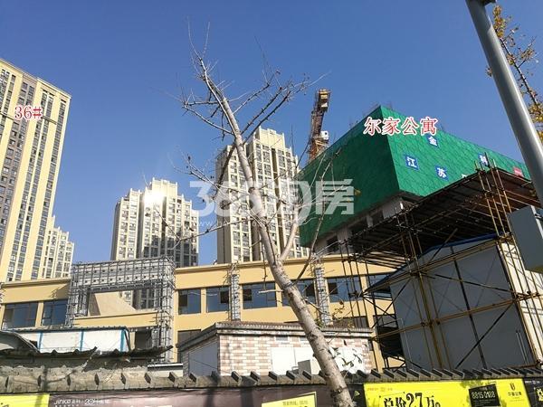 金科米兰尔家公寓工程实景(2017.12)