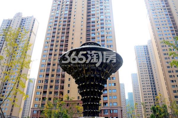 华南城紫荆名都停车场实景图(2017.12.06)