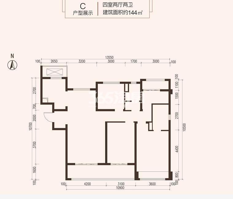 龙湖紫宸户型图