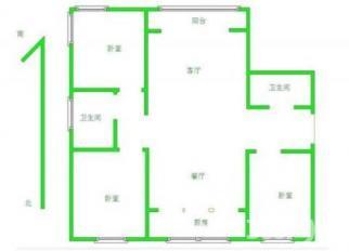 开发区商贸城对过中建华府 三室仅售138万带车库