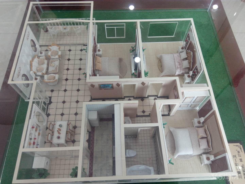 经纬壹品3室2厅1卫96.42平方米52万元