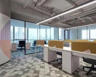 招商直租汉中门地铁站 豪华装带办公家具 含物业电费 星汉
