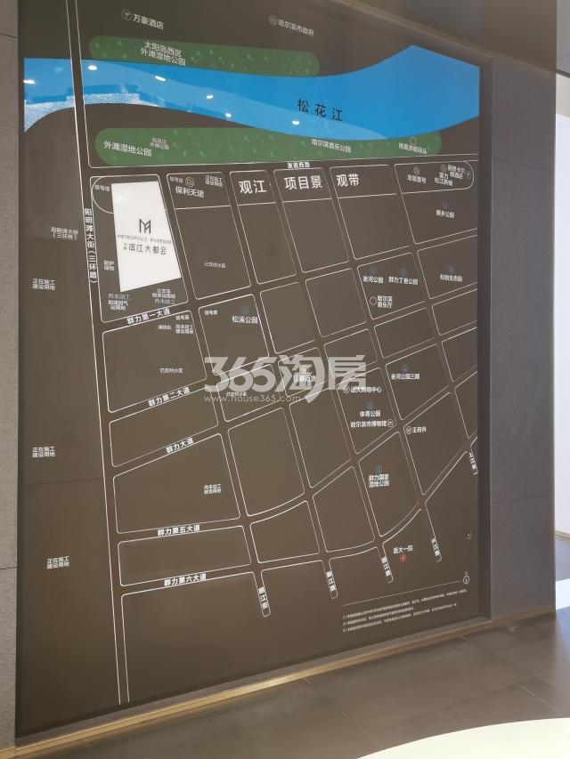 万科 · 滨江大都会交通图