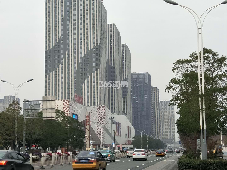 徐州铜山万达广场整体实景图(11.19)
