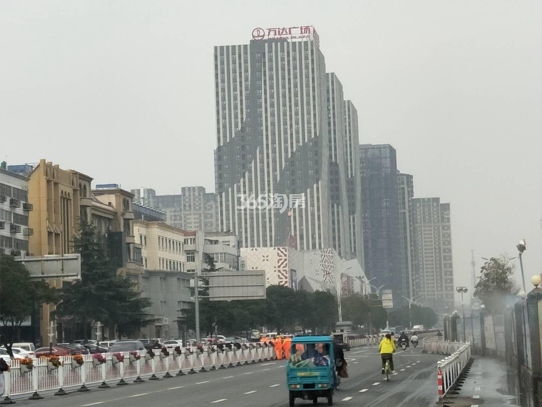 徐州铜山万达广场周边道路实景图1(11.19)