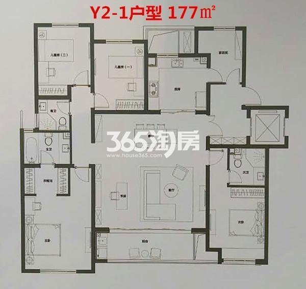 Y2-1户型 177㎡