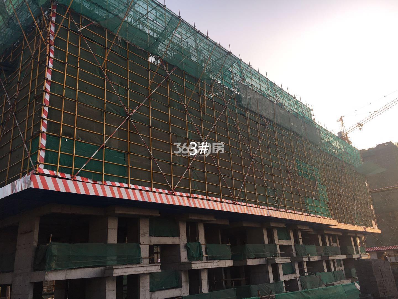 江山薈3号楼实景图(1.19)