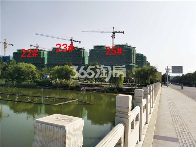 中梁首府22、23、25#在建实景图(9.26)