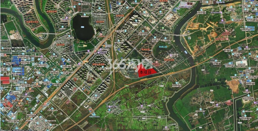 上棠颐和府交通图