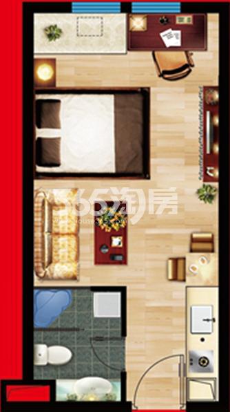 云鼎国际公寓户型图