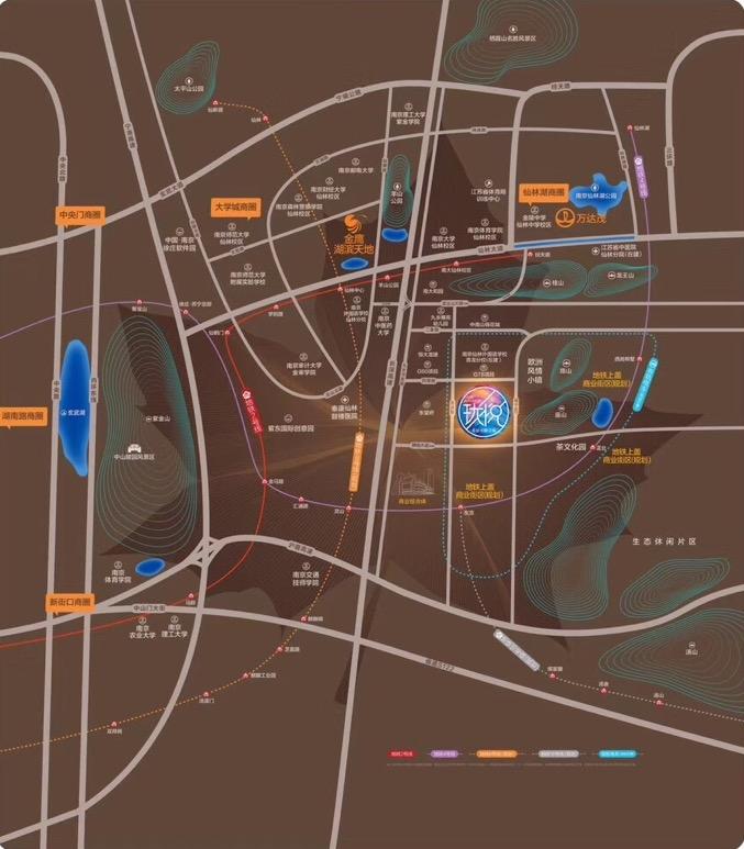 珑悦交通图