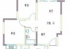高新花苑2室2厅1卫160万元78.75平方