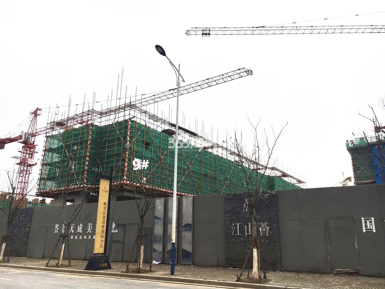 江山薈9号楼实景图(3.19)