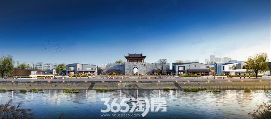 芜湖古城效果图