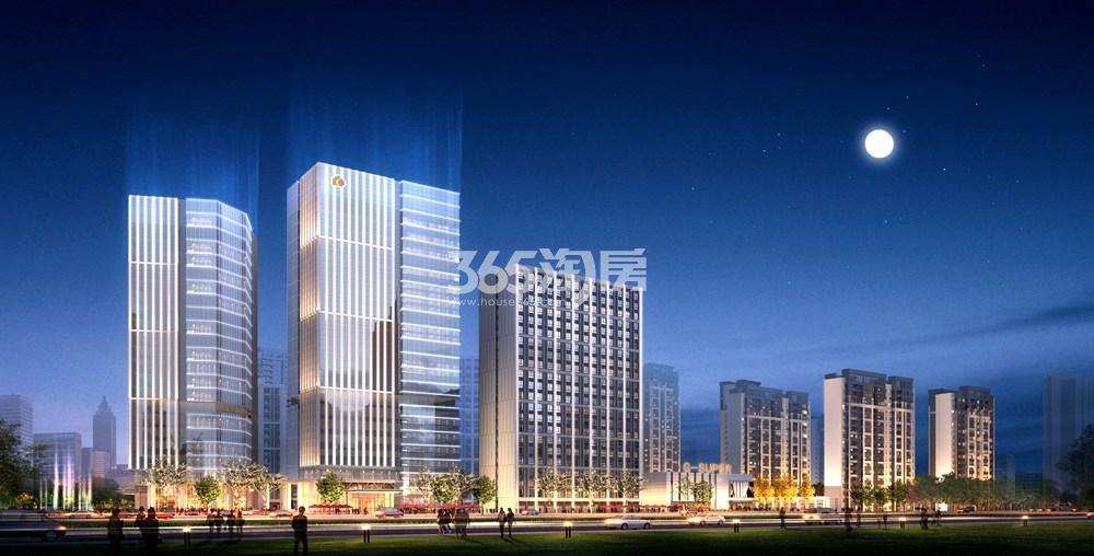 绿地国际产业新城莫兰迪公馆效果图