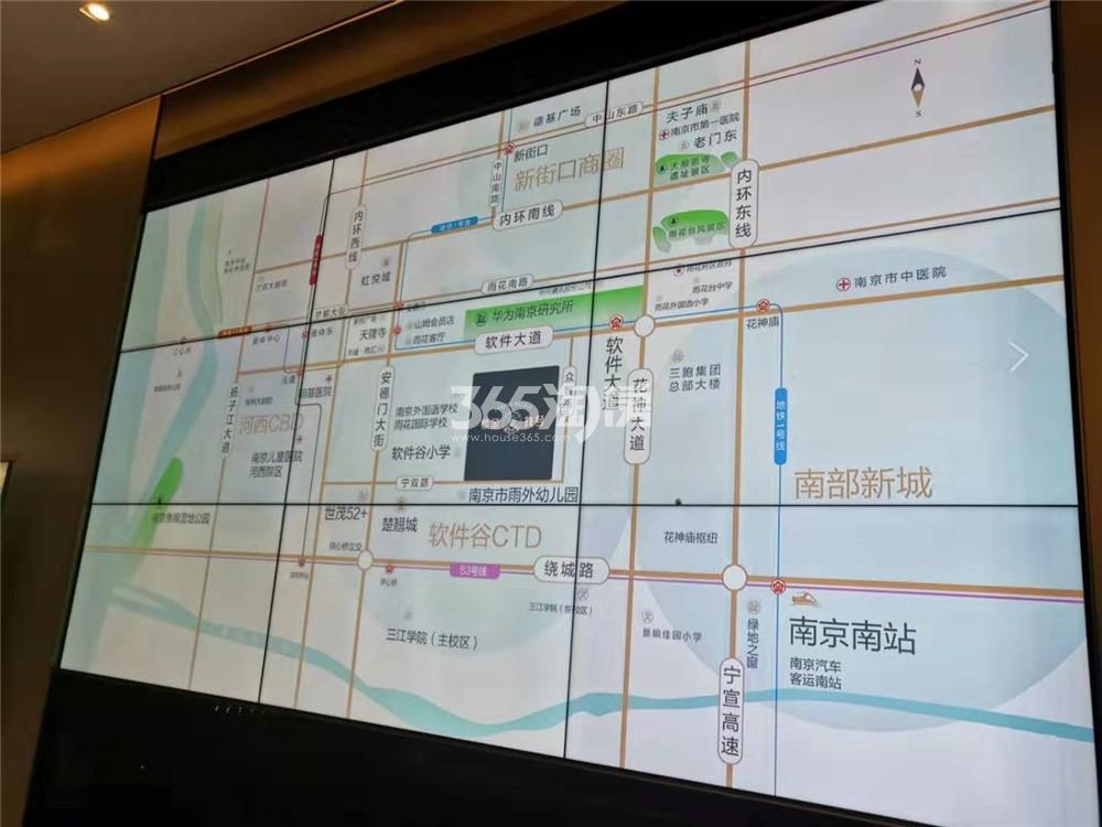 大名城·紫金九号售楼处区位图(11.28)