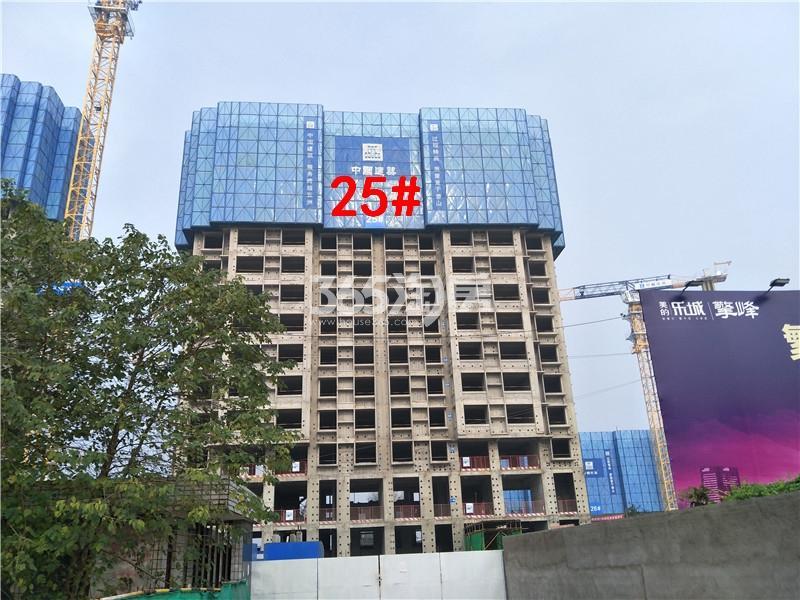 美的乐城在建25#楼实景图(11.21)