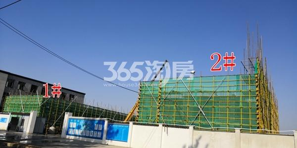 绿地理想城悦湖公馆低密度多层1-2#楼建至3层(5.3)