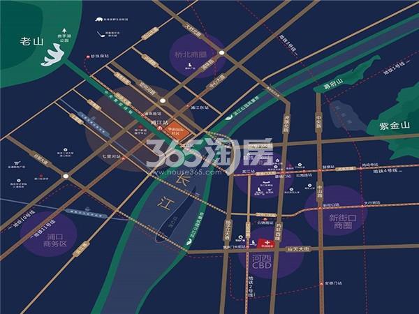 华润国际社区交通图