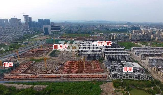 合景映月台项目整体施工进程(2017.10)