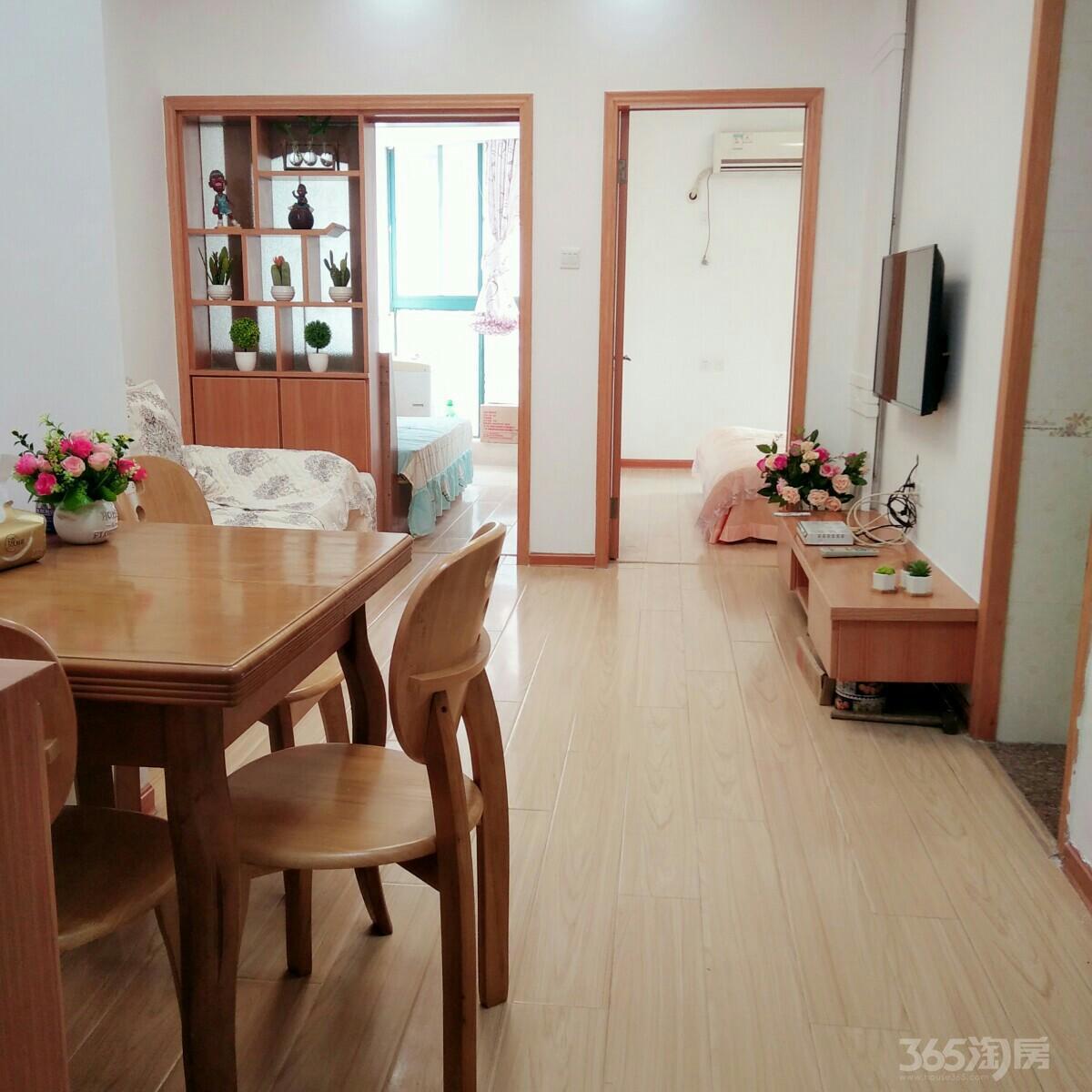 义乌商品城紫金银座2室1厅1卫56平米2009年产权房精装