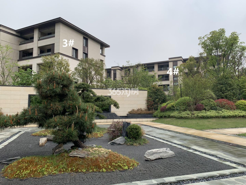 明发阅山悦府3、4号楼实景图(4.25)
