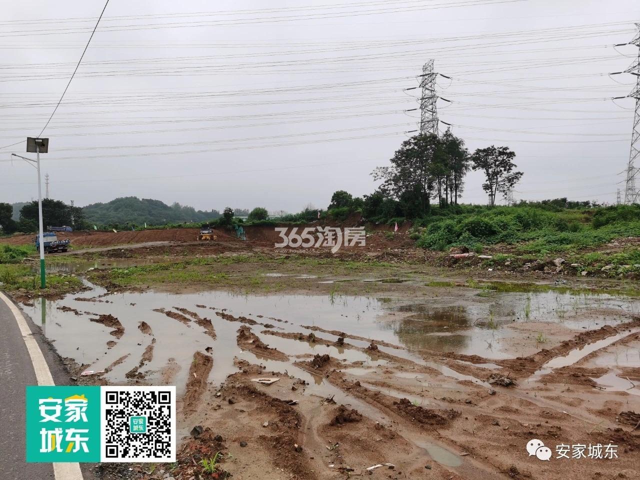 大鱼VILLA项目旁在建麒麟地铁小镇一期项目情况(7.28)