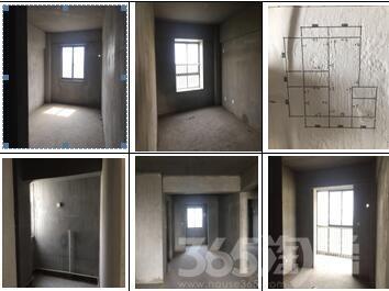 新闻小区3室2厅2卫144平毛坯房