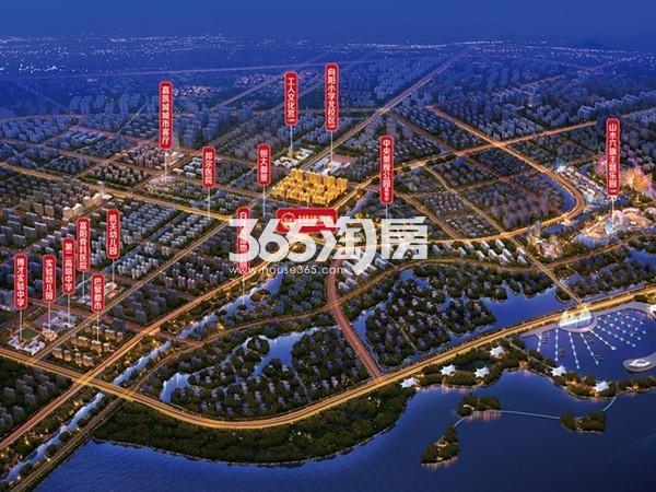 佳源·优优滨海交通图
