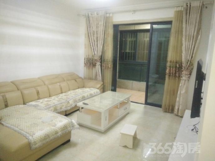 兆通大观花园2室2厅1卫88平米整租豪华装