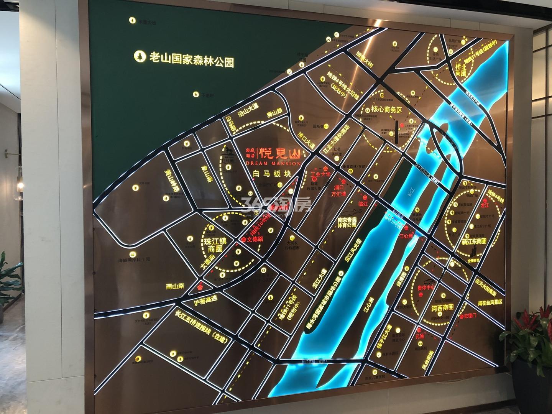 银城颐居悦见山交通图