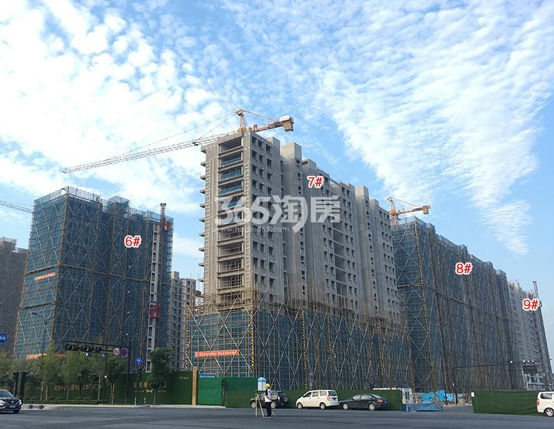 阳光城未来悦6-9号楼施工进程图(2018.9)