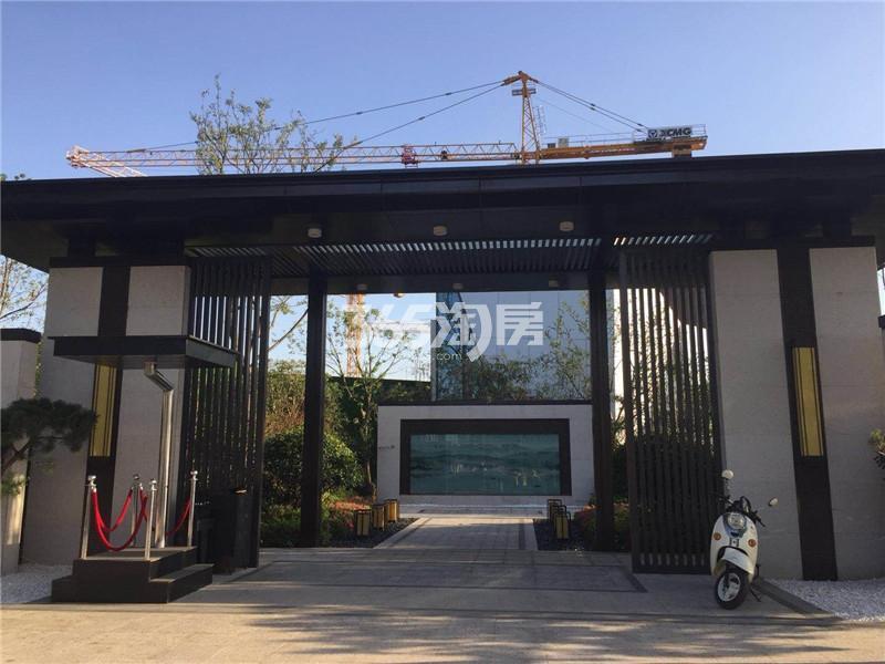 华宇九州府售楼处实景图