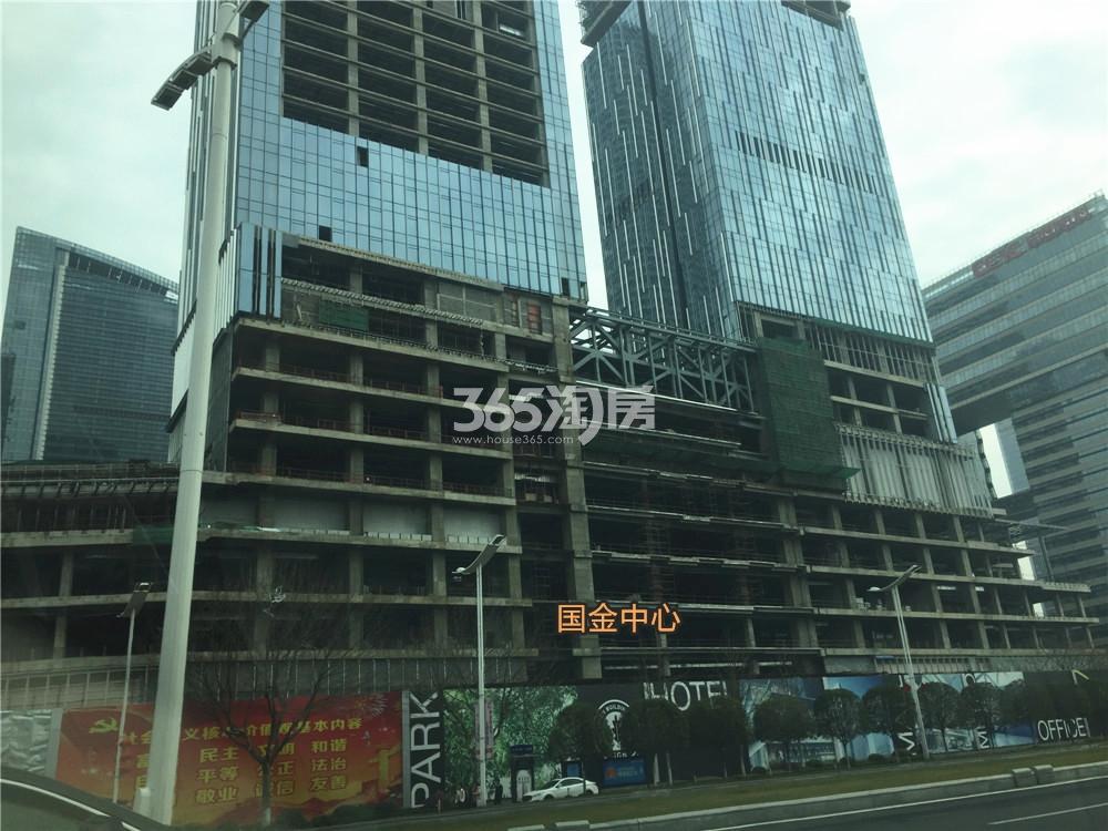 南京国金中心实景图