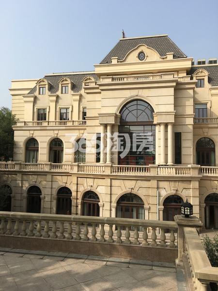 世园大公馆售楼部外部实景一览(2017.12.8)