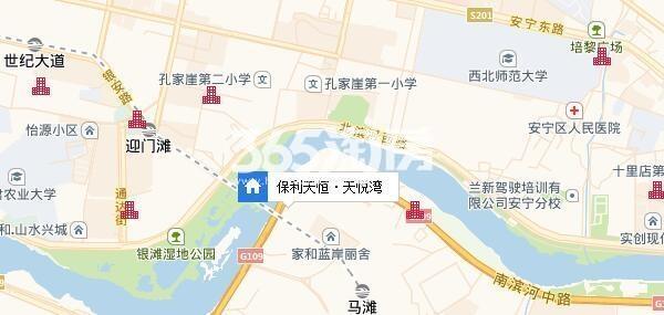 保利·天宸湾交通图