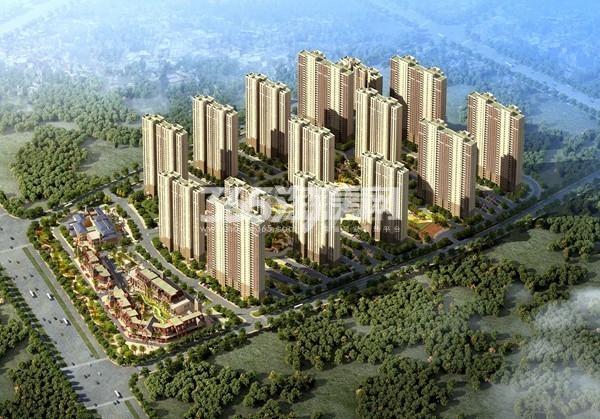 碧桂园生态城左岸效果图