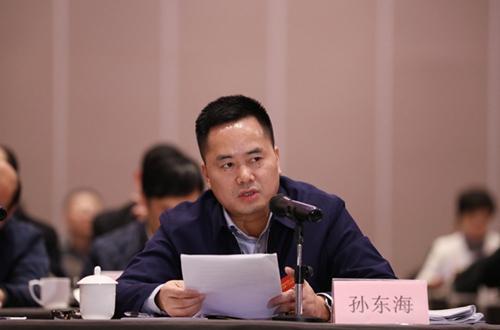 孙东海委员发言