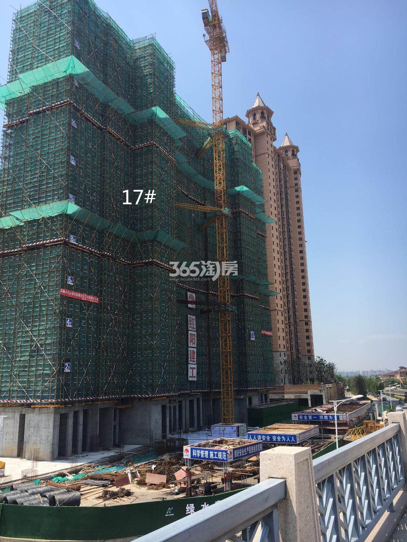 雅居乐滨江国际17号楼实景图(6.21)