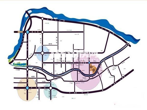 兰州红星国际广场交通图