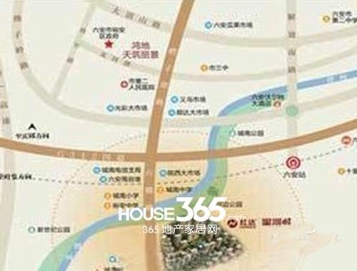 红达星河城交通图