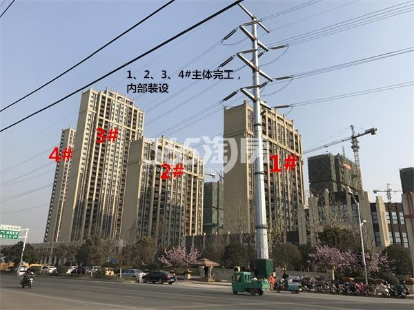 苏宁悦城1、2、3、4#实景图(1.24)