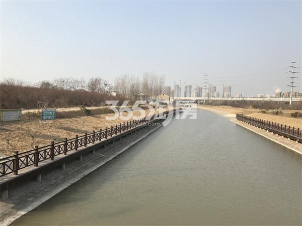 苏宁悦城周边丁万河实景图(1.24)