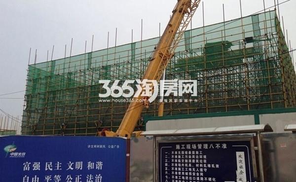 万科花山紫悦湾实景图