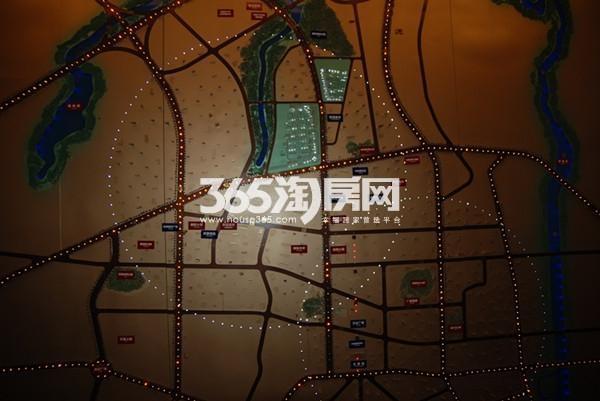 中冶蓝城交通图