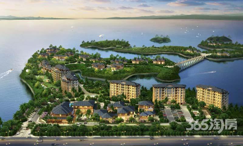 大杭州千岛湖不限购一线湖景稀缺住宅九龙湾三面环湖
